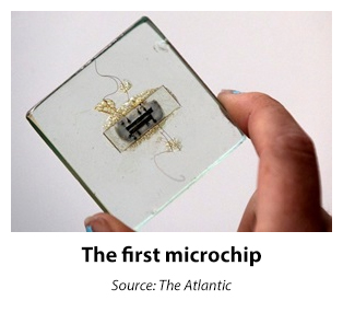 The first microchip